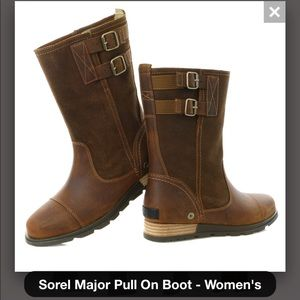 Sorel Major Pull On Boots